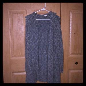 Grey Acrylic Gap cardigan